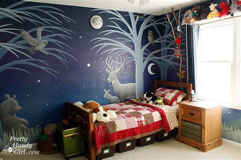 Bedroom Decorating Ideas For Women camping themed boy s room pretty handy girl
