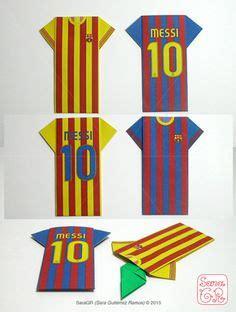 Origami Football Shirt - fc barcelona banner goal fc barcelona