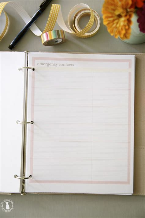 handmade home printable planner 17 best images about planners calendars on pinterest