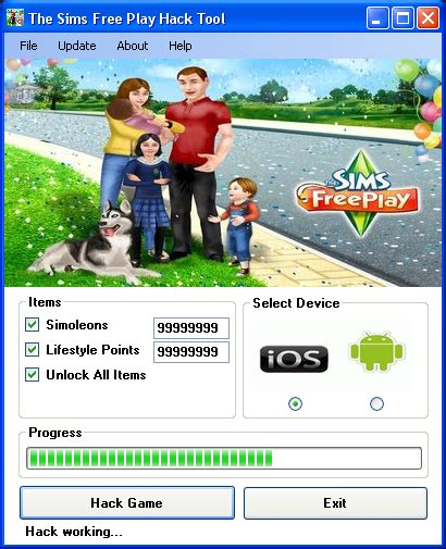 how to hack sims freeplay android the sims freeplay hack tool 2014 no password free android premium apps