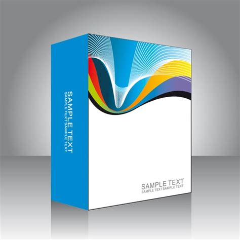 Vector Templates software box vector templates