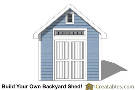 Tv Shed by 10x12 Traditional Garden Shed Plans