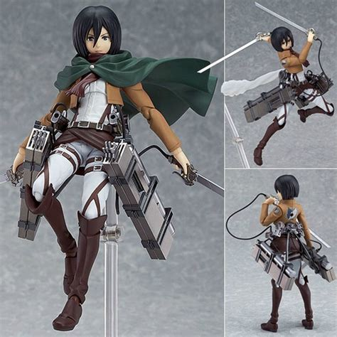 Figma Mikasa Ackerman attack on titan figure shingeki no kyojin mikasa ackerman pvc figma anime ebay