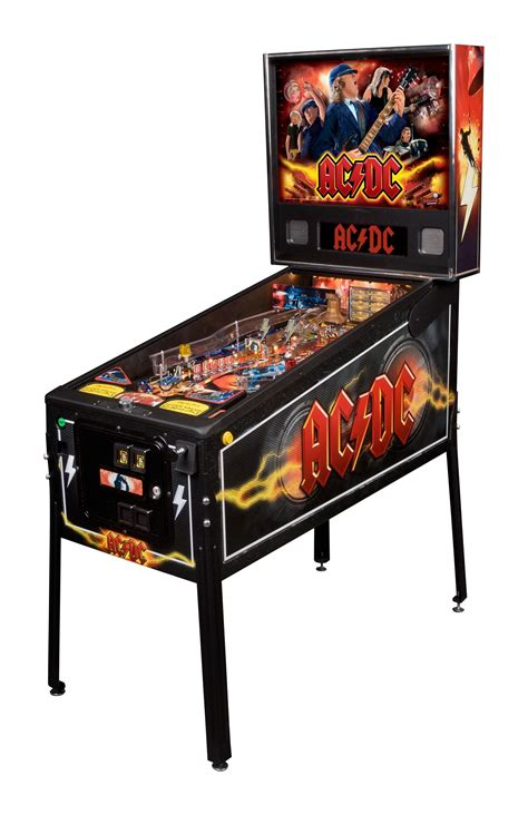 ac dc pinball table liberty