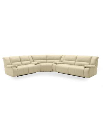 Nina Leather Reclining Sectional Sofa 3 Piece Power Franco Leather Reclining Sofa