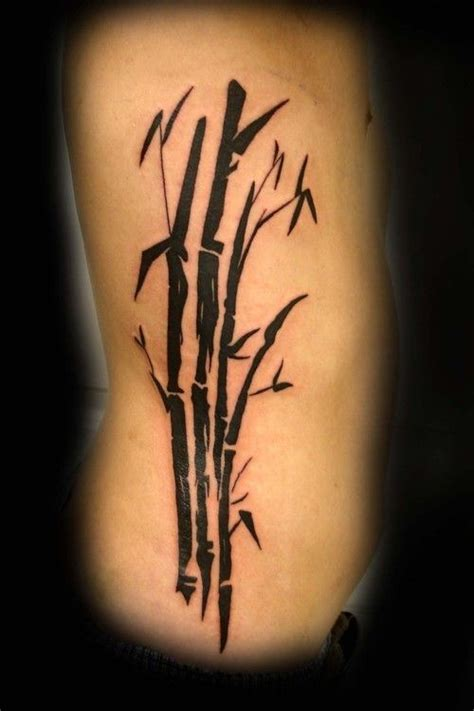 bamboo tattoo cover bamboo tattoo by tritle pinterest black ink bamboo tattoo on rib side tattoos pinterest