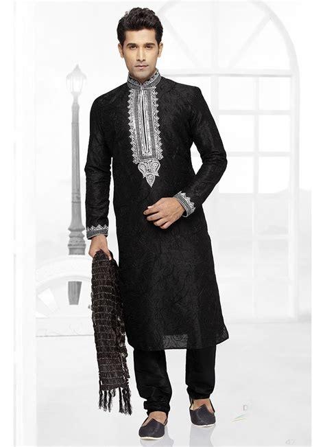kurta pattern in black black kurta design black designer kurta pajama with