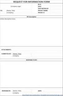construction rfi template construction schedule templates form templates for excel