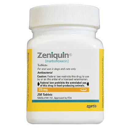 zeniquin for dogs zeniquin antibiotic for dogs and cats 1800petmeds