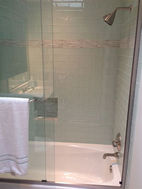 subway bathroom tile shower white subway tile bathroom love pinterest