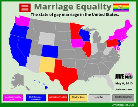 same marriage united states map marriage rights in the united states