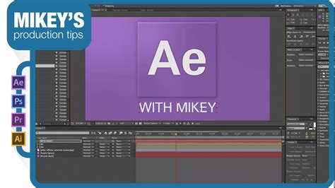 Tutorial After Effect Intro | mikey s after effects tutorial intro logo tutorial youtube