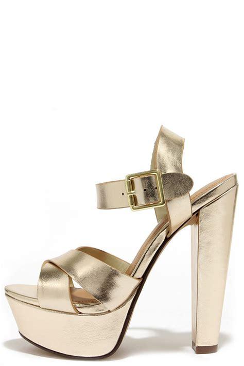 gold heels platform heels platform sandals 27 00