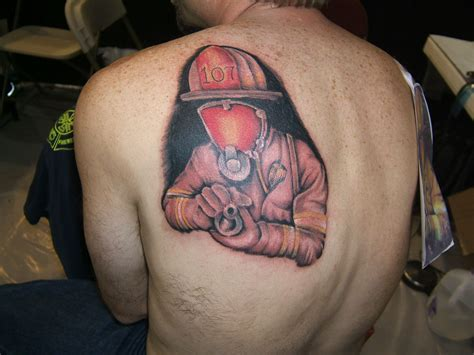 fireman tattoos firefighter tattoos designs ideas and meaning tattoos