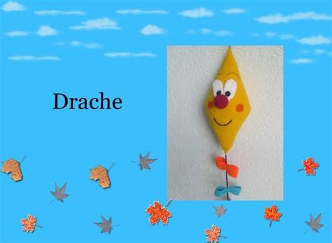 Herbstdeko Fenster Drachen by Drache Quot Herbstdeko Quot H 228 Kelanleitung
