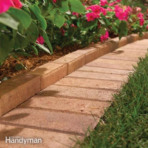 diy flower bed edging the best garden bed edging tips the family handyman