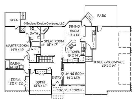 ranch style open floor plans house plans ranch style home open ranch style house plans
