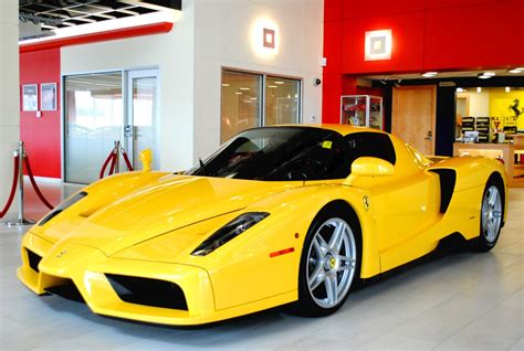 ferrari yellow yellow ferrari enzo hits the market at 2 7 million gtspirit