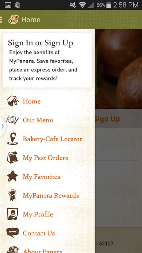 Panera Descriptions by Panera Bread Android Apps On Play