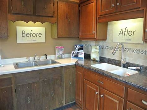 diy kitchen cabinet refacing how to refacing kitchen cabinets diy ward log homes