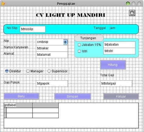 membuat database foxpro 9 membuat form penggajian dengan visual foxpro 9 0 blognya