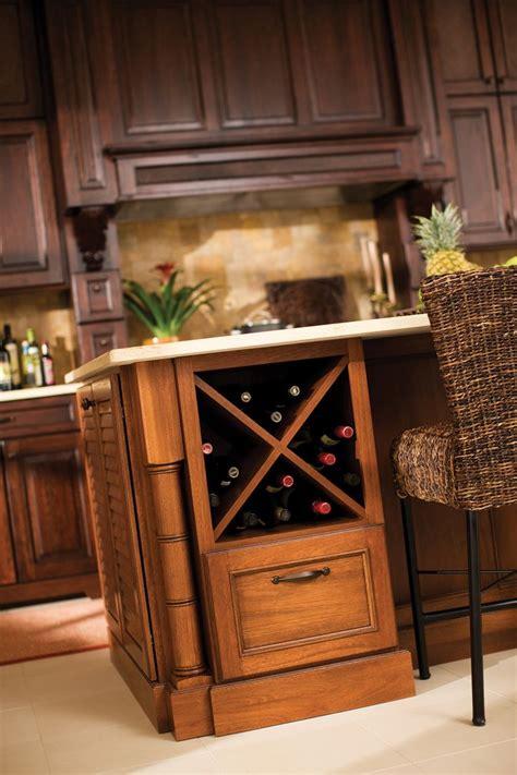kitchen islands with wine racks 1000 ideas about wine rack cabinet on pinterest wine