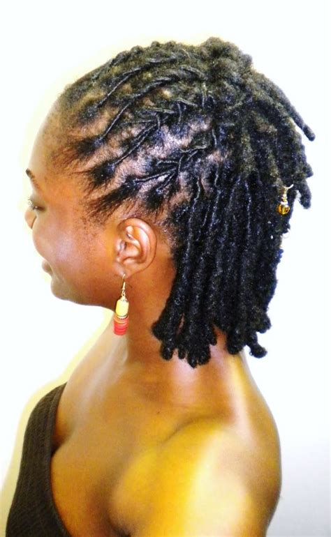 hairstyles for locs for locs half up half down short dreads styles pinterest