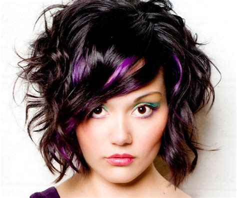 purple hair styles for black hair black hair purple highlights hairstyle pictures
