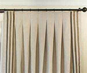 Different Curtain Rod Types Drapery Pleat Styles