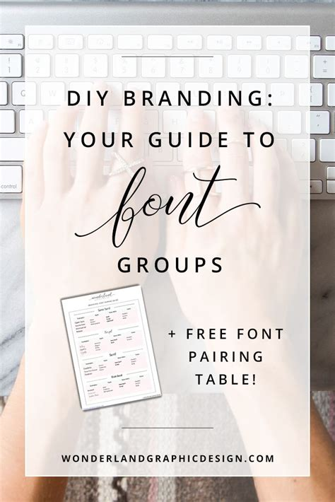 font design guide diy branding your guide to font groups free font