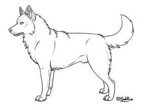 husky template free coloring pages of f husky