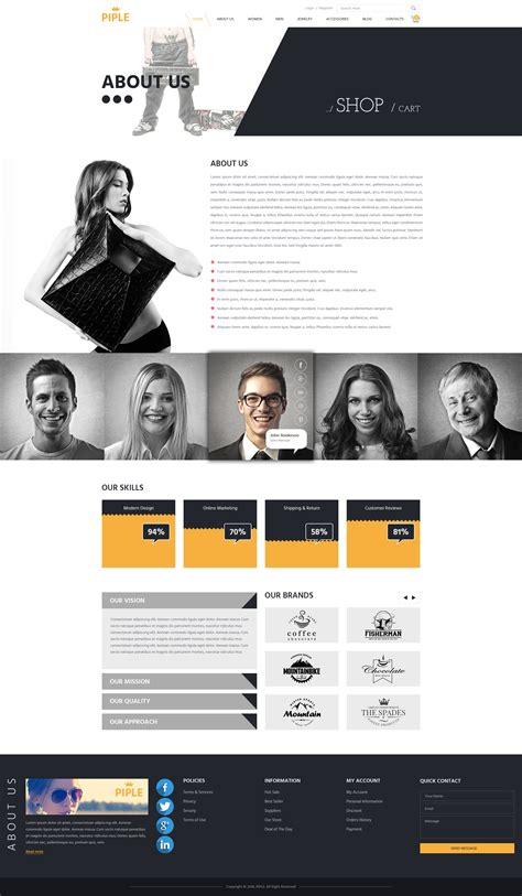Piple Search Piple Business Ecommerce Psd Template By Psd2allconversion Themeforest