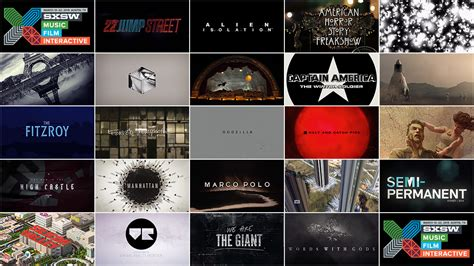 Outstanding Title Design Also Search For 2015 Sxsw Awards Excellence In Title Design Of The Title