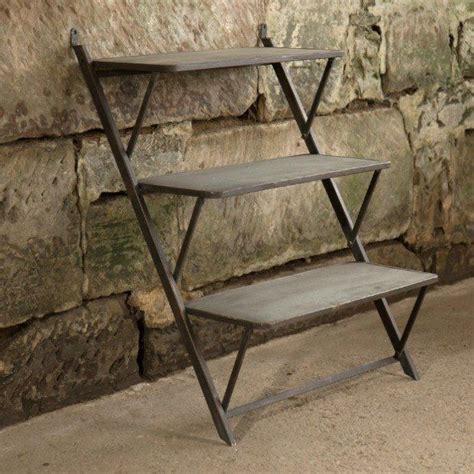 oak leaning shelves 25 best ideas about leaning ladder shelf on