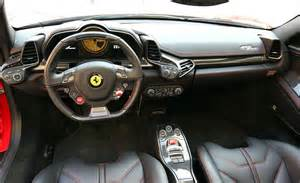 458 Spider White Interior Car And Driver
