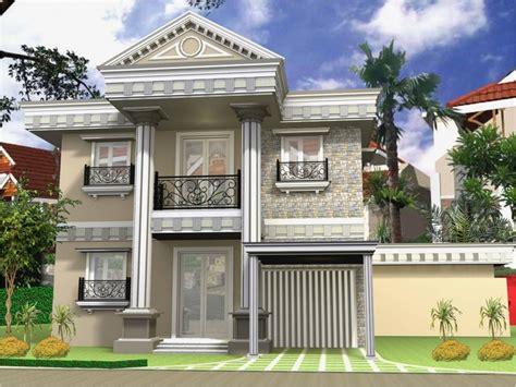 desain rumah yang mewah contoh desain rumah modern klasik yang mewah warnacat net