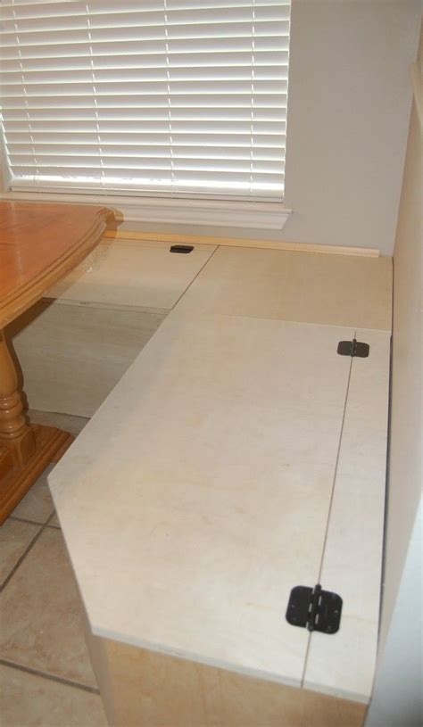 banquette diy diy banquette storage bench would love this on the
