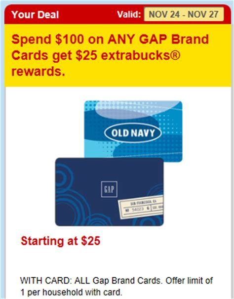 Old Navy Gift Card Paypal - extreme couponing mommy cvs coupon matchups 11 24 11 27 13