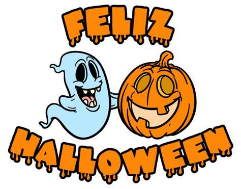 imagenes feliz dia halloween dibujo de feliz halloween pintado por amalia en dibujos