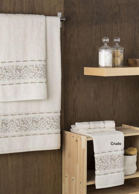 cenefas para toallas toalla cenefas hojas don algod 243 n casaytextil