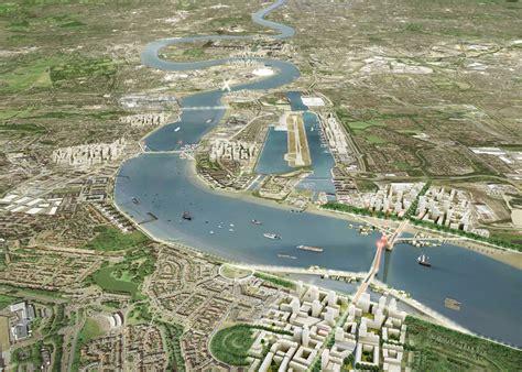 thames river before and after sadiq khan backs three new bridges in east london news