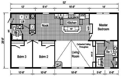 commodore homes floor plans commodore td114a riverview homes inc