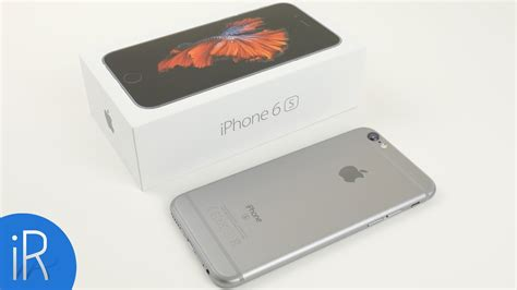 iphone  spacegrau gb unboxing erster eindruck