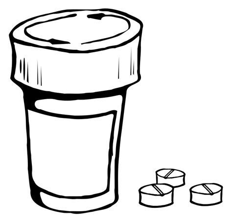 pill bottle clipart pixshark com images galleries