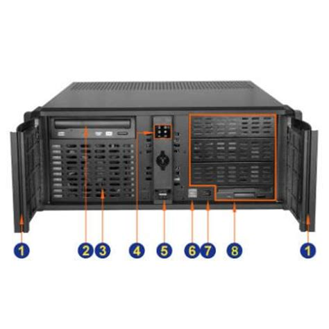 Rack Mount Pc by 4u 18 9 Quot Depth Industrial Rack Mount Computer Rms3400