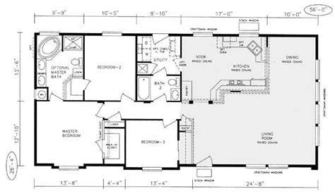 prefabricated home plans mfg homes floor plans new chion manufactured home floor