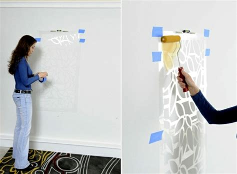 wall design templates paint the walls 21 creative ideas wall templates