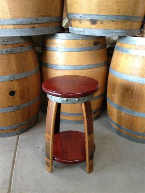 1000 ideas about wine barrel bar stools on