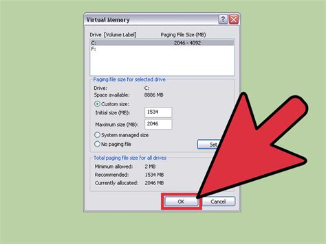 Ram Windows Xp how to change memory in windows xp 4 steps