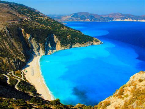Worlds Best Beaches by Myrtos Beach Kefalonia